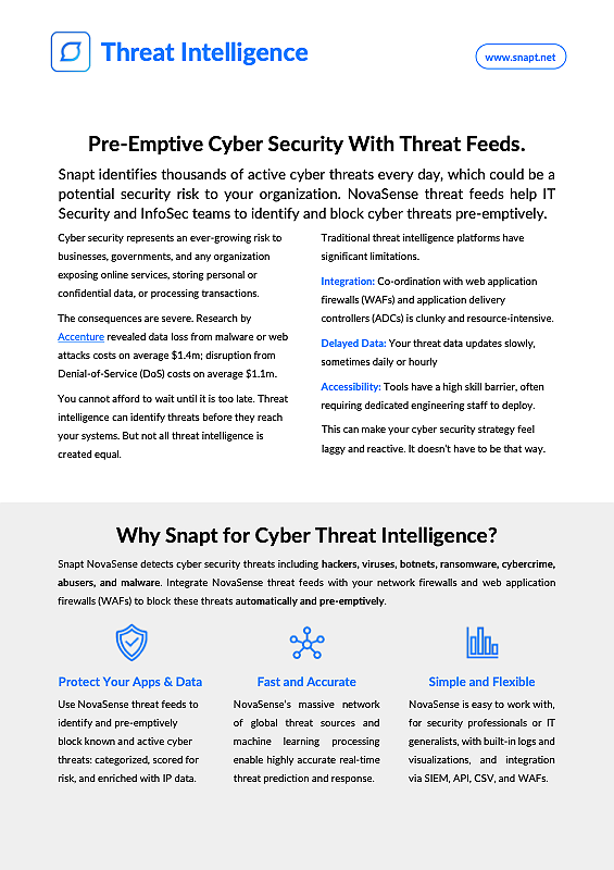 snapt-solution-brief-cyber-security-threat-intelligence-thumbnail