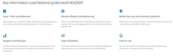 what is rdp load balancing